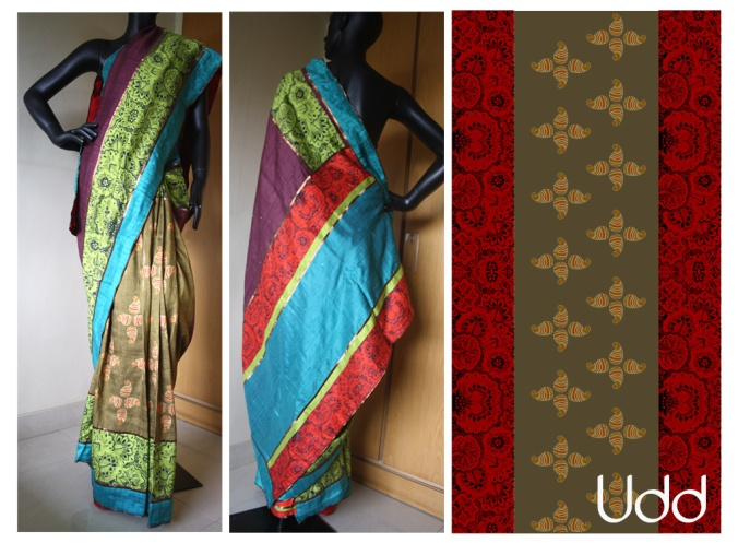 border style with paisley patli silk_12SS39