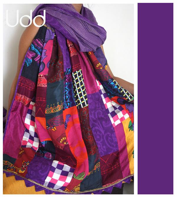 purple patch work on kota